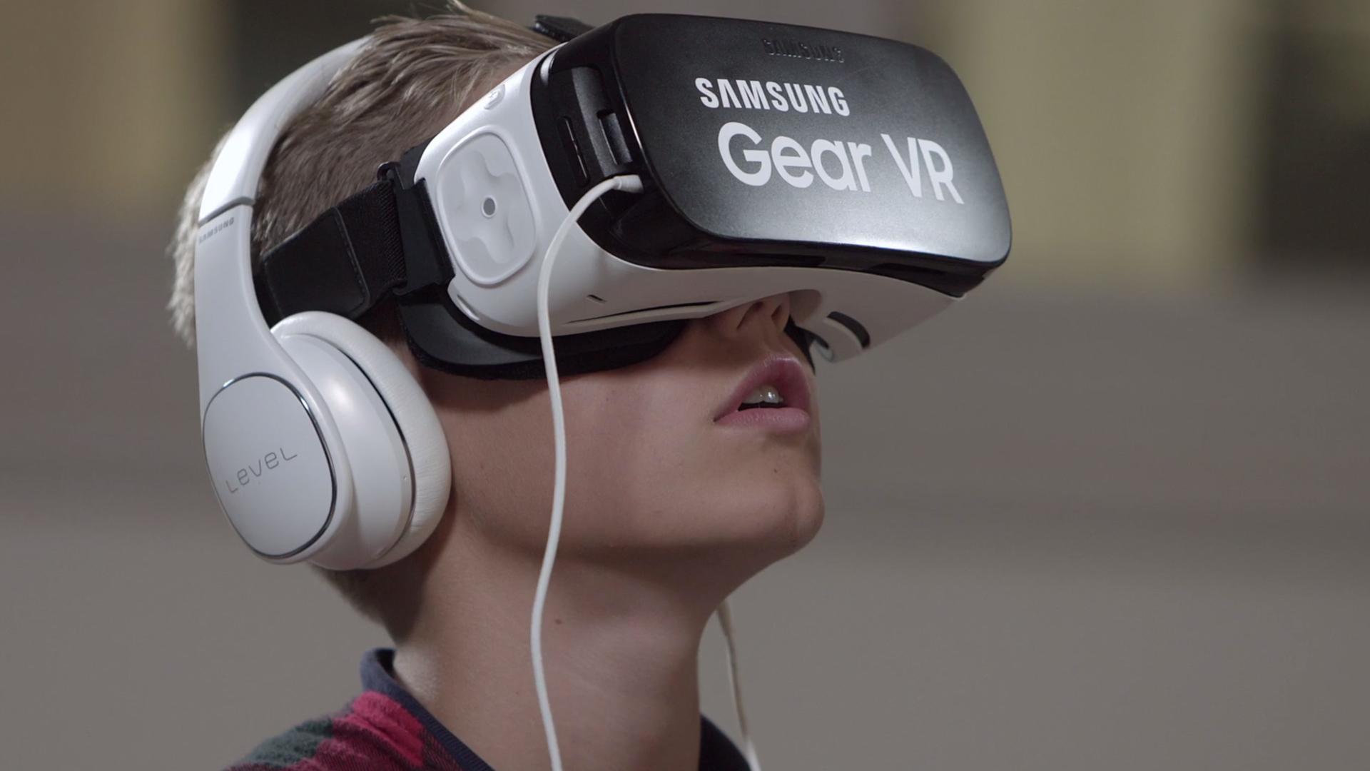 Samsung-VR-homepage